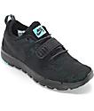 Nike SB Trainerendor Black, Black & Jade Shoes