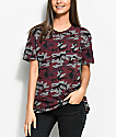 Ninth Hall Steph Dark Camo Pocket T-Shirt