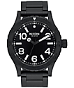 Nixon 46 All Black Analog Watch