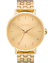 Nixon Arrow All Gold Watch
