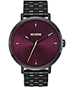 Nixon Arrow Black & Purple Watch