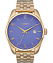 Nixon Bullet Light Gold & Lavender Analog Watch