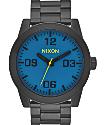 Nixon Corporal SS Black & Seaport Blue Watch