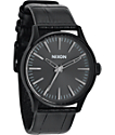 Nixon Sentry 38 Leather Analog Watch