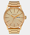 Nixon Sentry SS All Gold Analog Watch