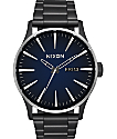 Nixon Sentry SS Ombre Black & Blue Watch