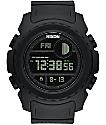 Nixon Super Unit All Black Digital Watch