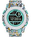 Nixon Super Unit Beach Drifter Digital Watch
