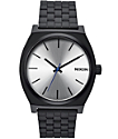 Nixon Time Teller Black & Silver Watch
