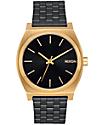 Nixon Time Teller Gold & Black Sunray Watch