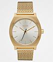 Nixon Time Teller Milanese Gold & Cream Analog Watch