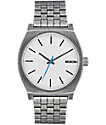 Nixon Time Teller Silver Antique Watch