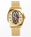Nixon Time Teller X Santa Cruz Gold Jessee Watch