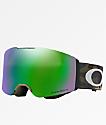 Oakley Fall Line Army Camo Prizm Jade Iridium Snowboard Goggles
