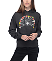 Obey 16 Bullets Charcoal Hoodie