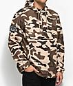 Obey Crosstown Camo Anorak Jacket