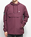 Obey Crosstrown Eggplant Anorak Jacket