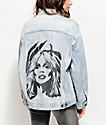 Obey Debbie Harry Tompkins Denim Jacket