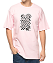 Obey Defiant Rose Pink T-Shirt