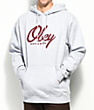 Obey Get Me Like Heather Grey Hoodie