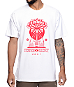 Obey Green Power White T-Shirt