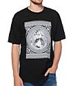 Obey Hostile Take Over Black T-Shirt