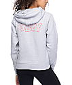 Obey Lo-Fi Heather Grey Pullover Hoodie