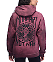 Obey Make Art Not War Tie Dye Hoodie