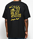 Obey Midnight Angels Black T-Shirt