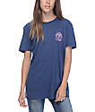 Obey Mira Rosa Navy Blue T-Shirt