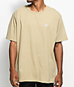 Obey New Times Box Khaki T-Shirt