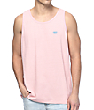 Obey New Times Box Pink Tank Top