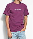Obey New Times Worldwide Plum T-Shirt