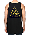 Obey Next Round 2 Black & Gold Tank Top