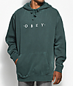 Obey Novel Dusty Forest Pullover Hoodie