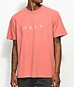 Obey Novel Dusty Rose T-Shirt