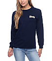 Obey Ole Navy Long Sleeve T-Shirt