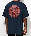 Obey Propaganda Navy & Red T-Shirt