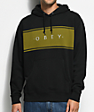 Obey Roebling Black Hoodie