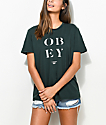 Obey See Clearly Classic Dark Green T-Shirt