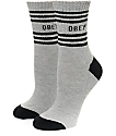Obey Taylor Black Crew Socks