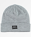 Obey Vernon Heather Grey Fold Beanie