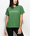 Obey Worldwide Sport Boxy Green T-Shirt