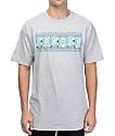 Odd Future Aztec Logo Grey T-Shirt