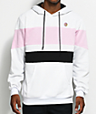 Odd Future Colorblock White, Pink & Black Hoodie