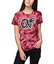Odd Future Cracked Logo Maroon T-Shirt