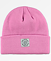 Odd Future Cuff Patch Pink Beanie
