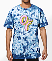 Odd Future OF Donut Tie Dye T-Shirt