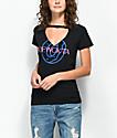 Odd Future OFWGKTA Cutout V-Neck Black T-Shirt
