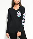 Odd Future Roses Black Long Sleeve T-Shirt